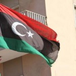 Libyan Flag in Tripoli