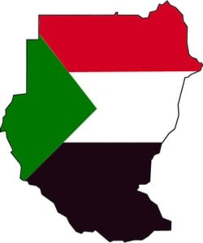 sudan_flag_map