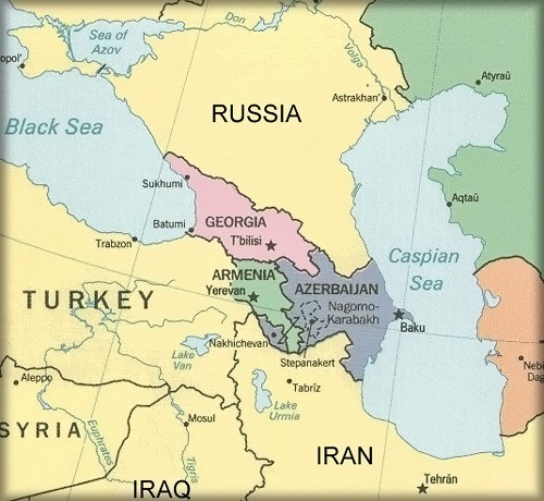 caucasus-map