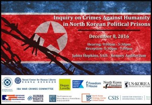 Flyer for the Inquiry